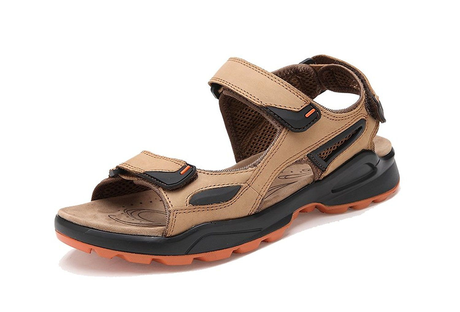 e6bce389b654c Agowoo Women's Open Toe Ankle Strap Beach Hiking Sandals * For more ...