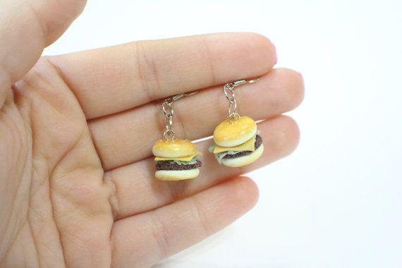 Polymer Clay Burger Fast Food Junk Food by JackBarkleyCrafts