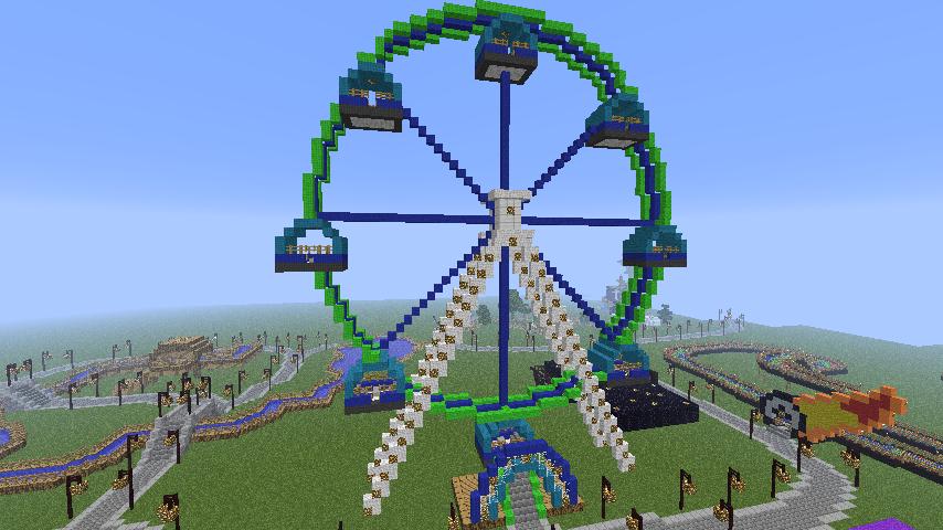 +Minecraft Amusement Park (Now with DL!) 700+ Downloads ...  +Minecraft Amus...