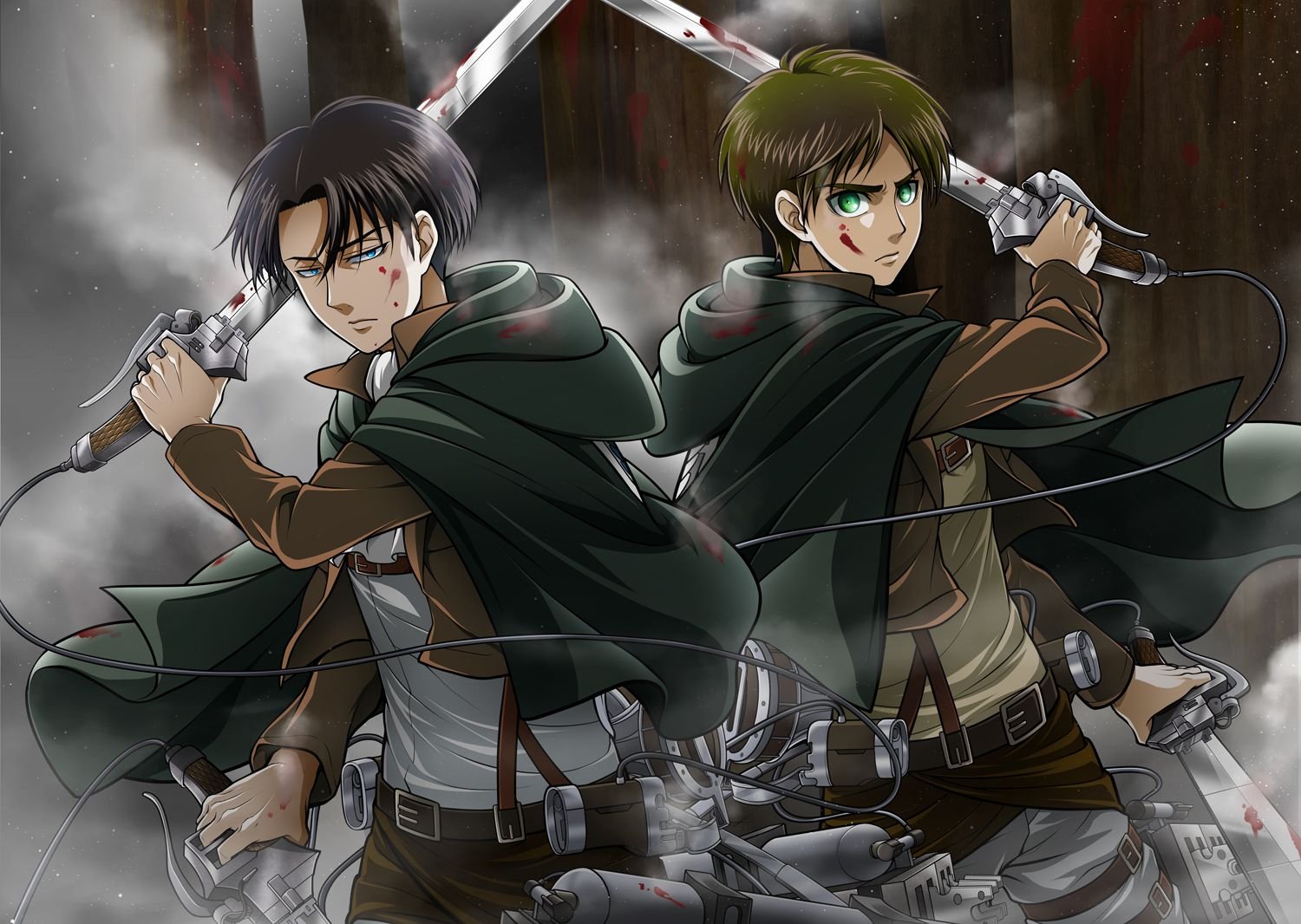 Shingeki no Kyojin by 33 Attack on titan english, Anime