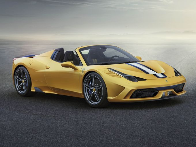 The 2015 Ferrari 458 Speciale A Convertible Is A Limited