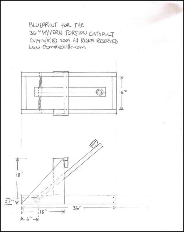 Catapult Engineering Schematics - Catalogue of Schemas on
