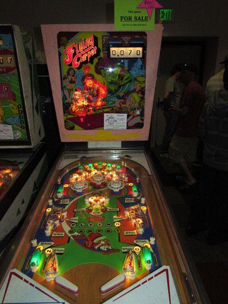 1972 Flying Carpet Gottlieb Pinball Machine Pinball Pinball Machine Pinball Game