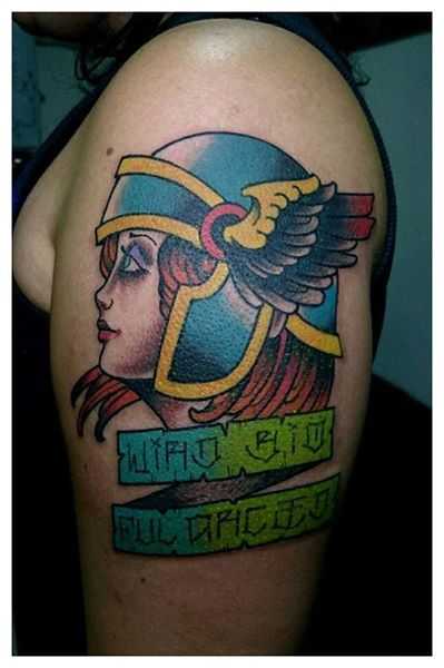 Warrior lady by Pablo Henrique