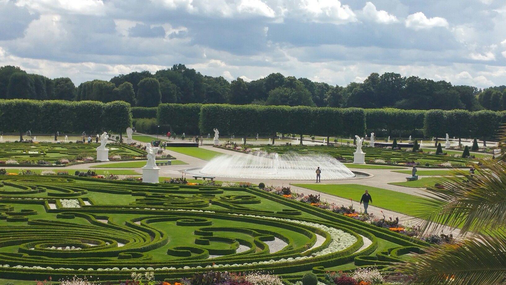 Herrenhauser Garten Beautiful Gardens Fresh Air Scenic