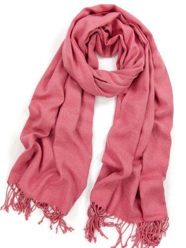 "Dusty Rose Pashmina Shawl Scarf - Warm & Extremely Soft (Size 79"" L x 29"") La Purse,http://www.amazon.com/dp/B007VQL9S8/ref=cm_sw_r_pi_dp_Ucqorb1F09RD3KXT"