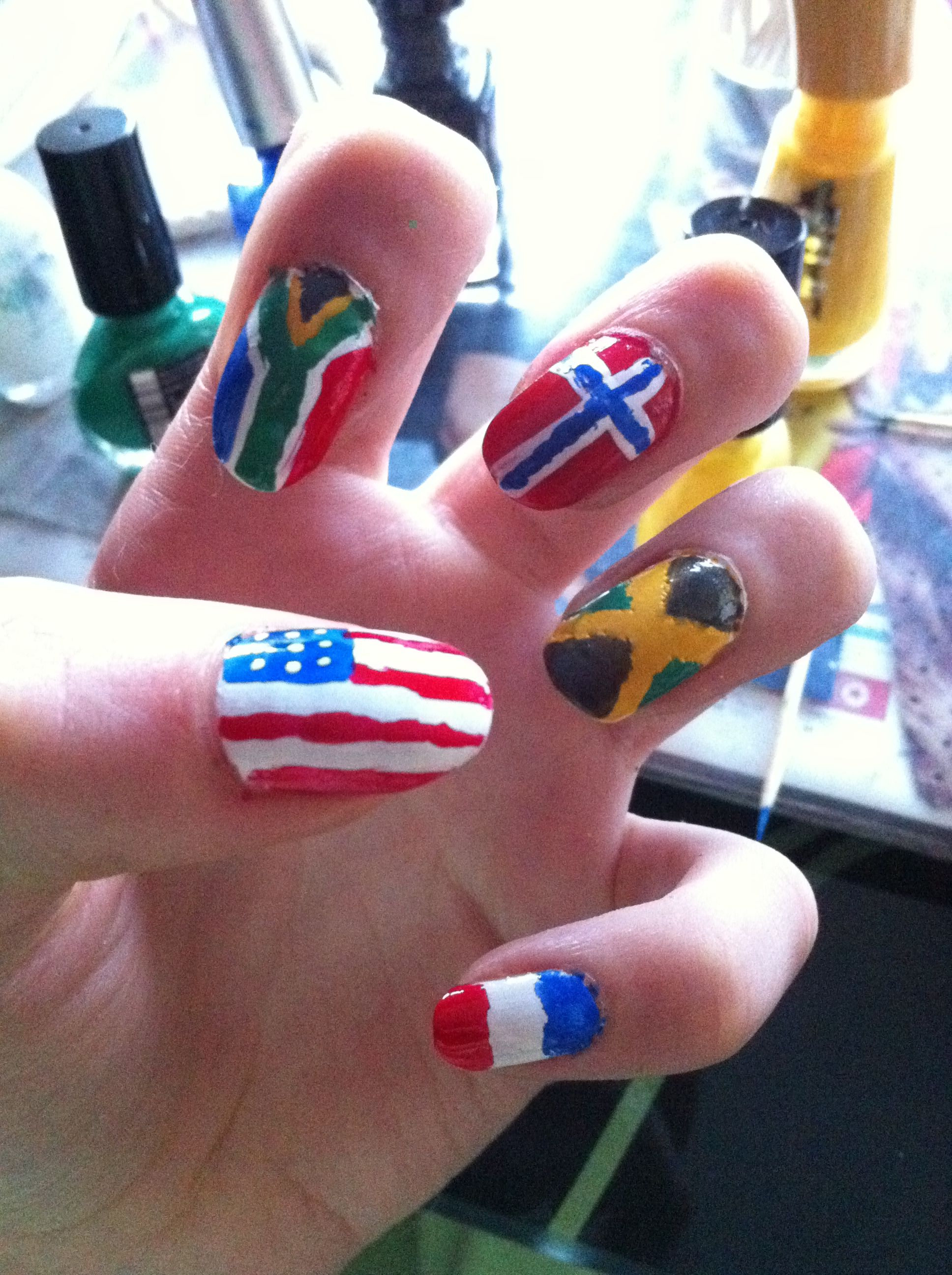 USA & South Africa & Norway & Jamaica & France ♥