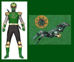 Ninja Storm Spider Ranger For Andruril93 By Greencosmos80