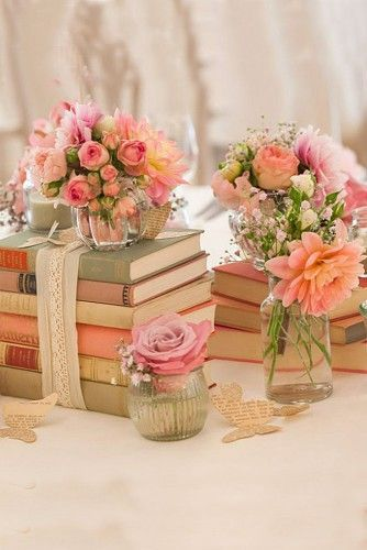shabby chic vintage wedding decor ideas vintage weddings shabby rh pinterest com shabby chic wedding decorating ideas shabby chic wedding centerpieces ideas