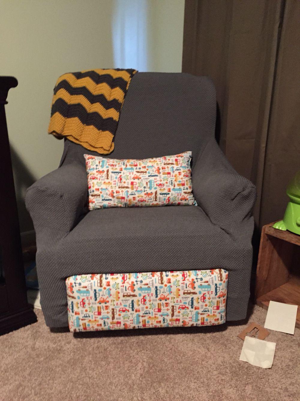 Repurposed recliner