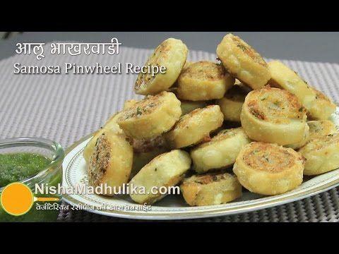 Aloo bhakarwadi recipe samosas pinwheel recipe nisha madhulika aloo bhakarwadi recipe samosas pinwheel recipe forumfinder Images