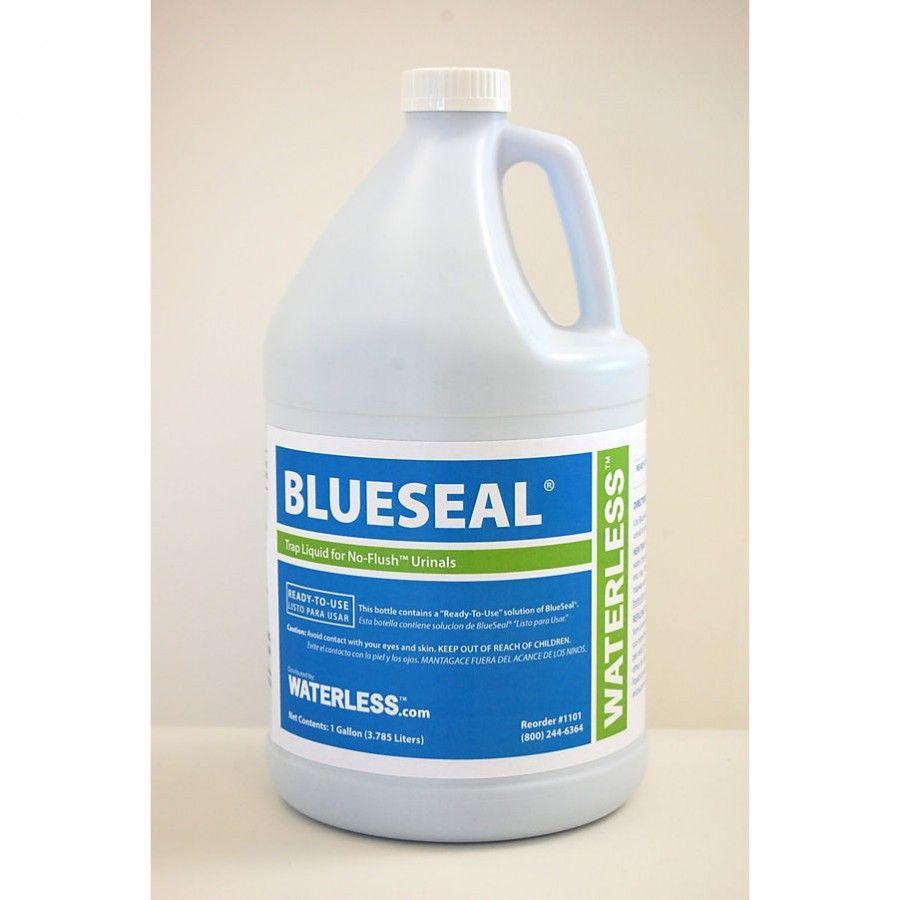 Waterless Blueseal Urinal Trap Seal Liquid 1 Gallon 1101
