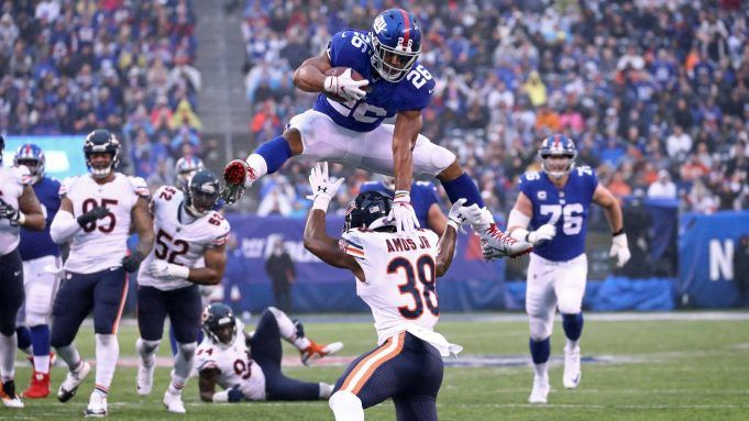 Giants RB Saquon Barkley Wins 2018 Pepsi Rookie Of The