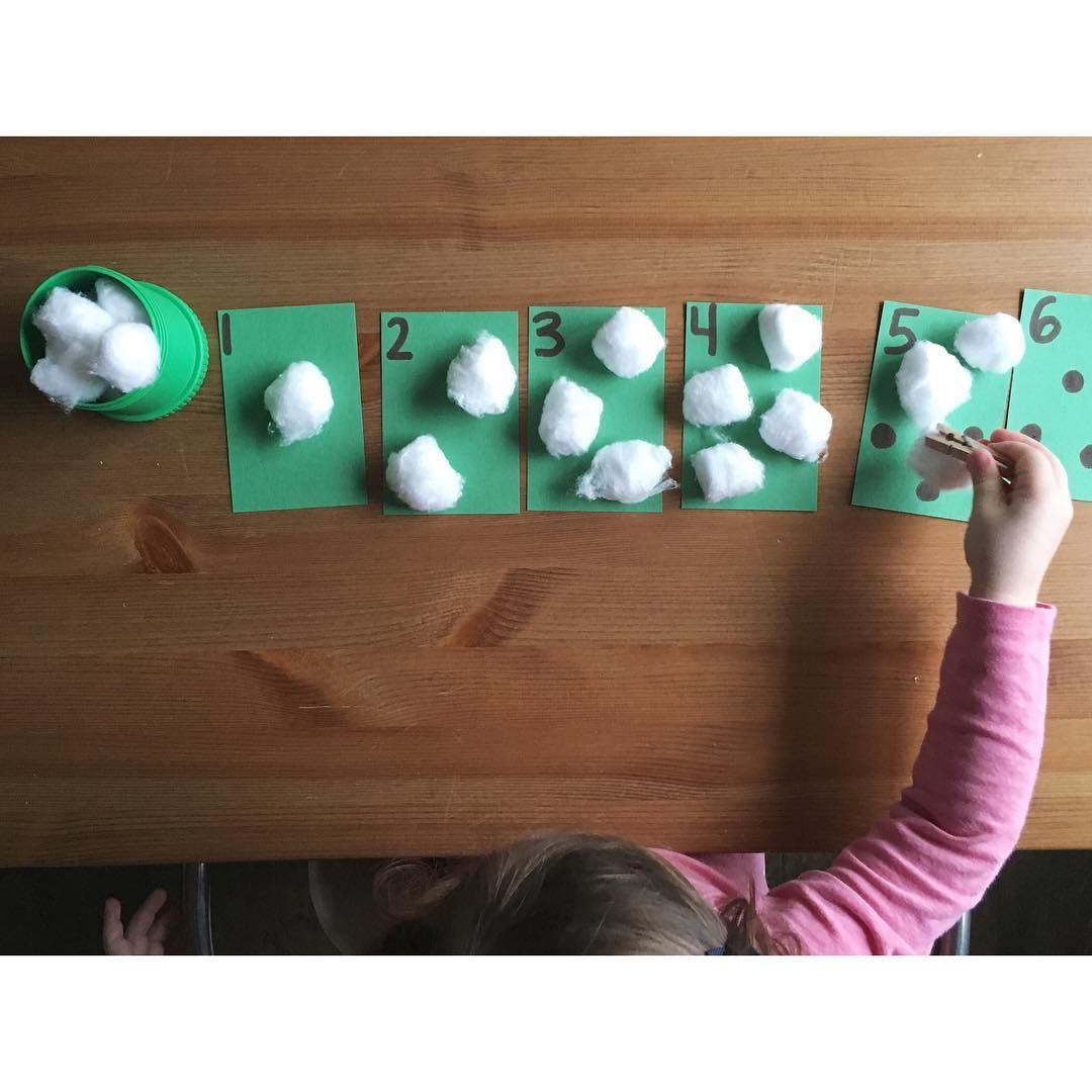 Counting Sheep Preschool Activity