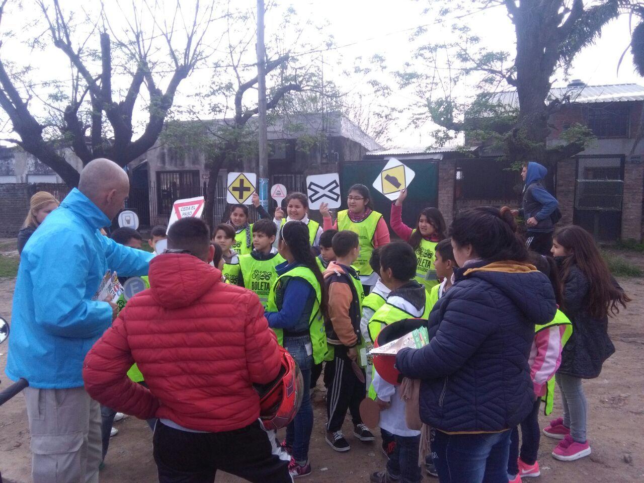 programa boleta de la verguenza ,educación vial en las calles de florencio varela