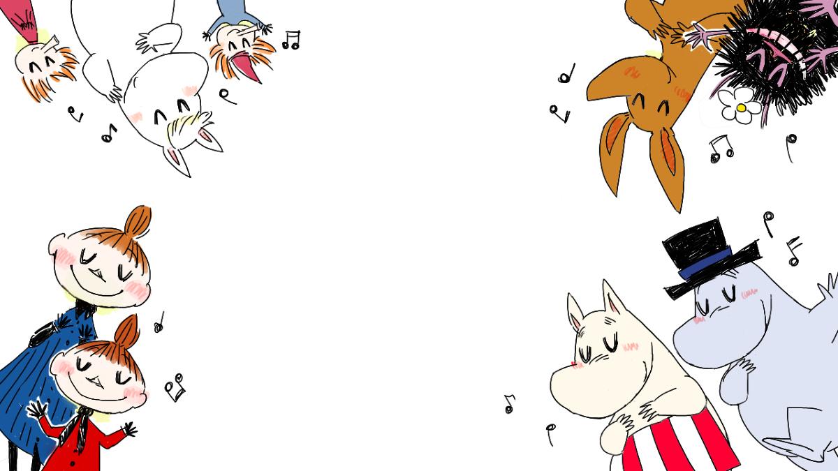 ムーミン むーみん動画絵色々 illustration by 乾燥わかめ pixiv 絵 イラスト 動画