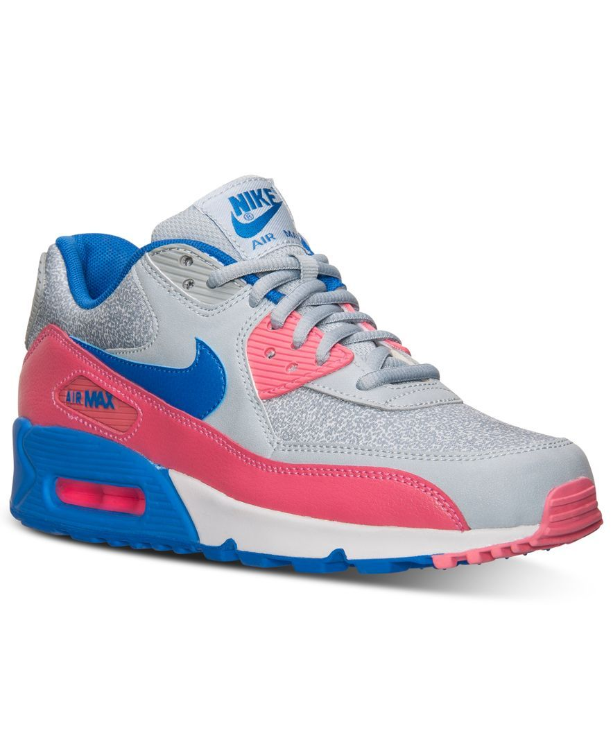 035f87b02a6 ... Nike Womens Air Max 90 Running Sneakers from Finish Line - Finish Line  Athletic Sneakers ...