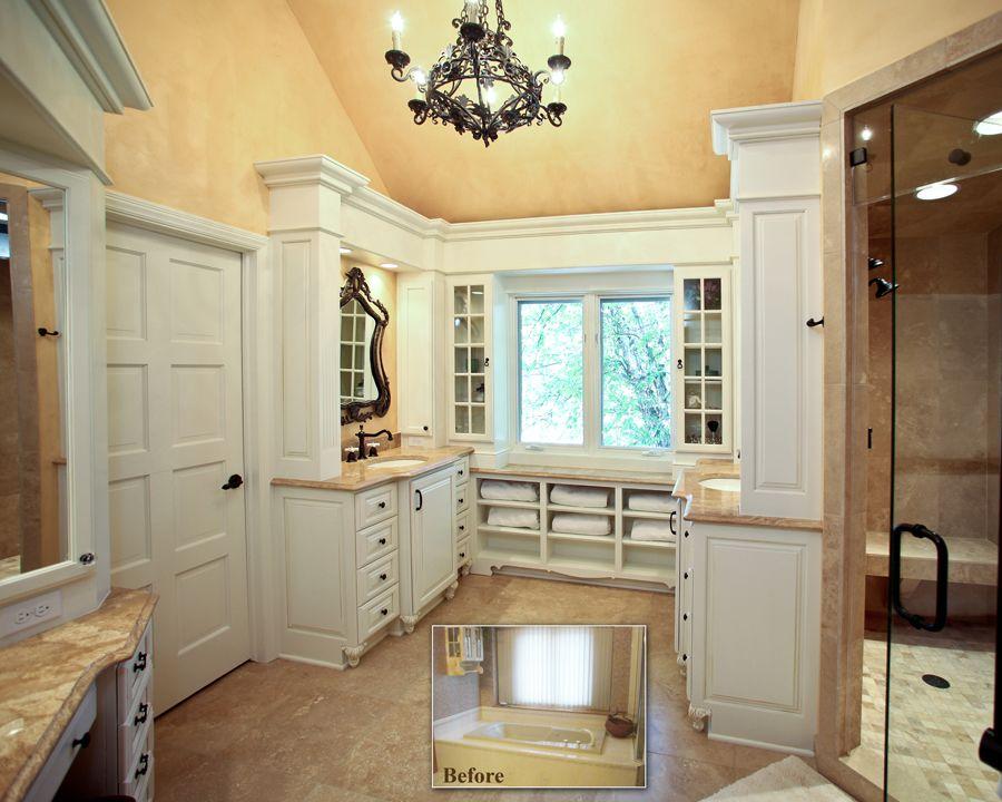 #barenzbuilders Delafield Master Bathroom Remodel Before-After