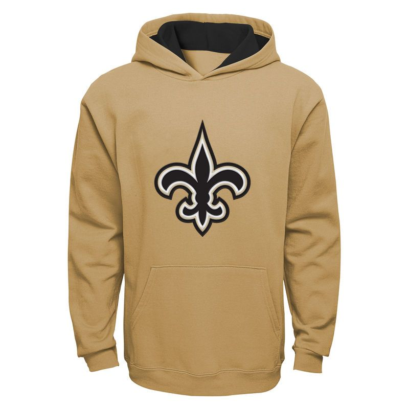 New Orleans Saints Youth Fan Gear Prime Pullover Hoodie