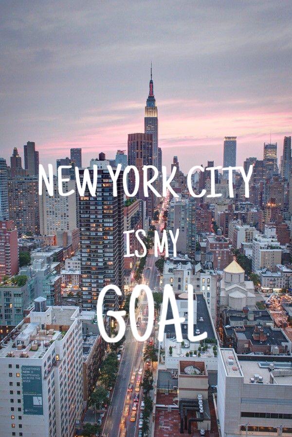 My Life Goal Iphone wallpaper I NY Pinterest
