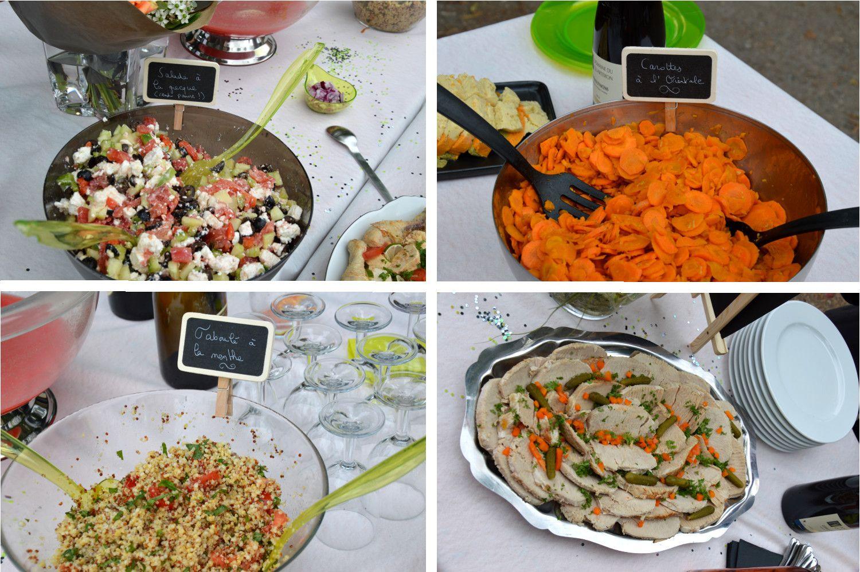 Salades Pour Buffet Froid Repas Anniversaire Organisation Bapteme Repas