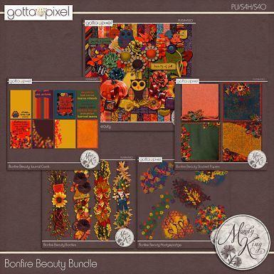 Bonfire Beauty Digital Scrapbook Bundle at Gotta Pixel. www.gottapixel.net/