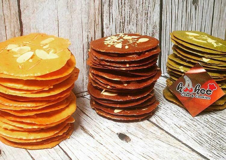 Resep Almond Crispy Oleh Kookee Cake Cookies Resep Resep Kue Kering Kue Kering Mentega