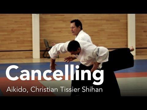 """Aikido: """"Cancelling"""". Christian Tissier Shihan - http://aikidocentral.net/aikido-cancelling-christian-tissier-shihan/"""