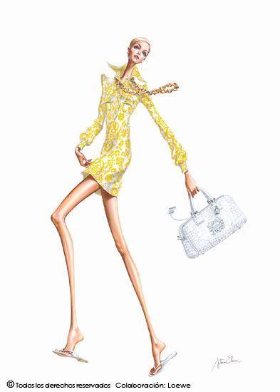 La moda ilustrada de Arturo Elena | Our Steps Got Style