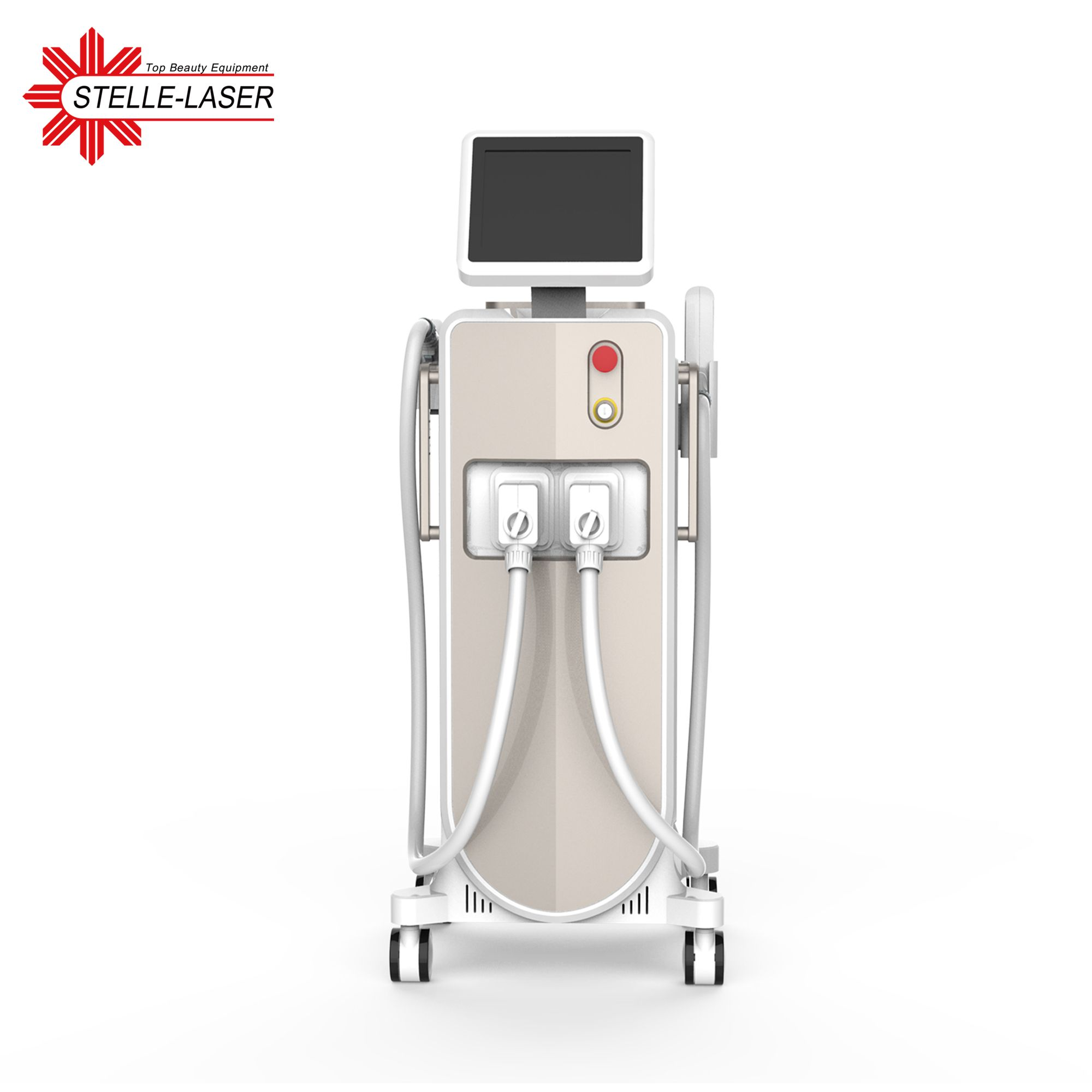 Nd yag laser tattoo removal + 808nm diode laser hair