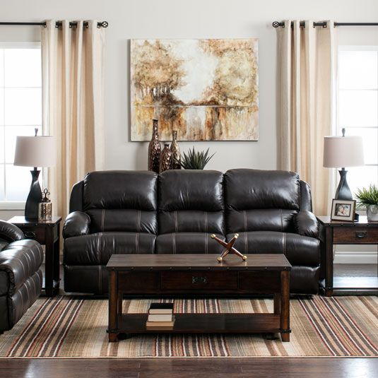 You'll feel spoiled with the Giorgio Reclining Living Room ...