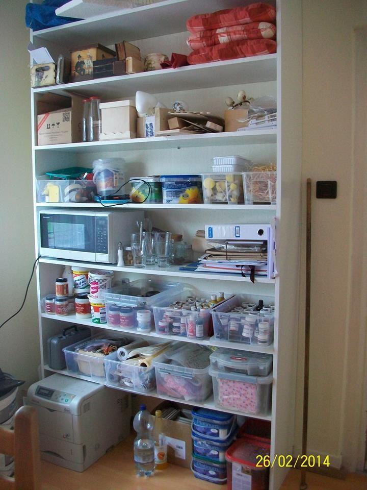 Hobby Schrank OrGaNiZer Pinterest Schränkchen - ordnung im küchenschrank