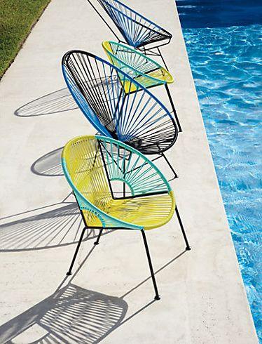Best Acapulco Black Blue Lounge Chair Midcentury Outdoor Modern 400 x 300