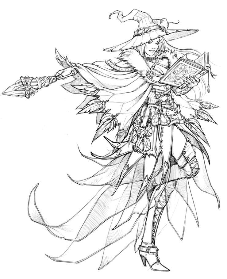 Eva Widermann - Concept art for Runes of Magic   Andrew sketch ...