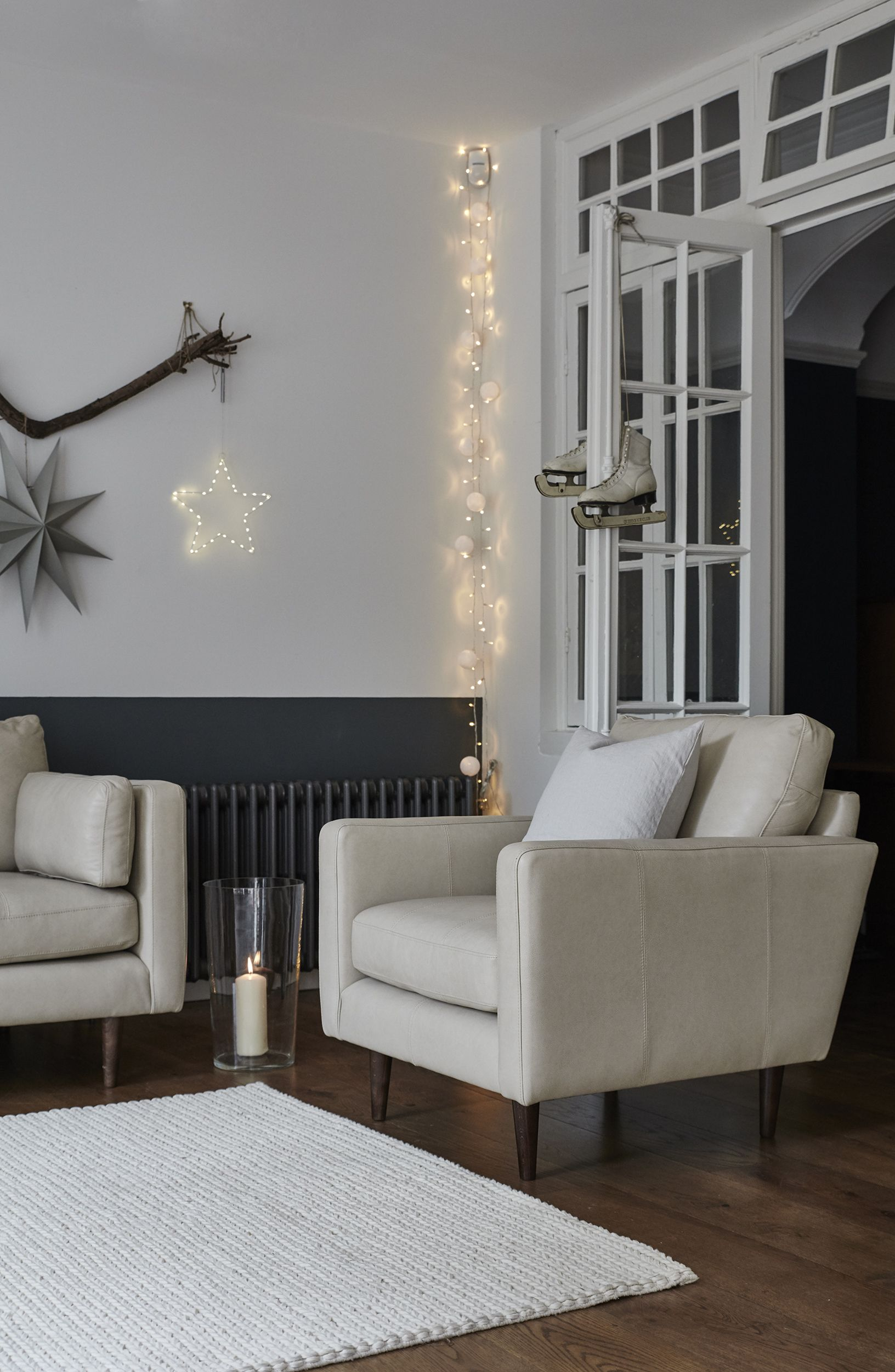 Hang Strings Of Fairy Lights In The Corner Of The Room To Crea