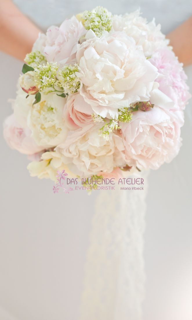 Juni Brautstrauss Pfingstrosen Wedding Bouquets Bridal Bouquet