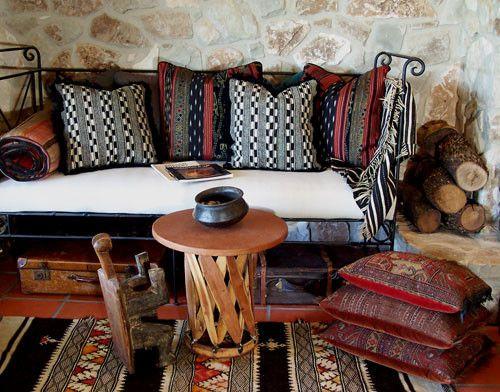 ethnic interior design Ideas For the Home Pinterest Haciendas