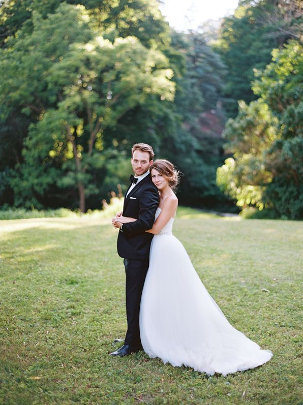 Elegant Outdoor White Wedding Once Wed