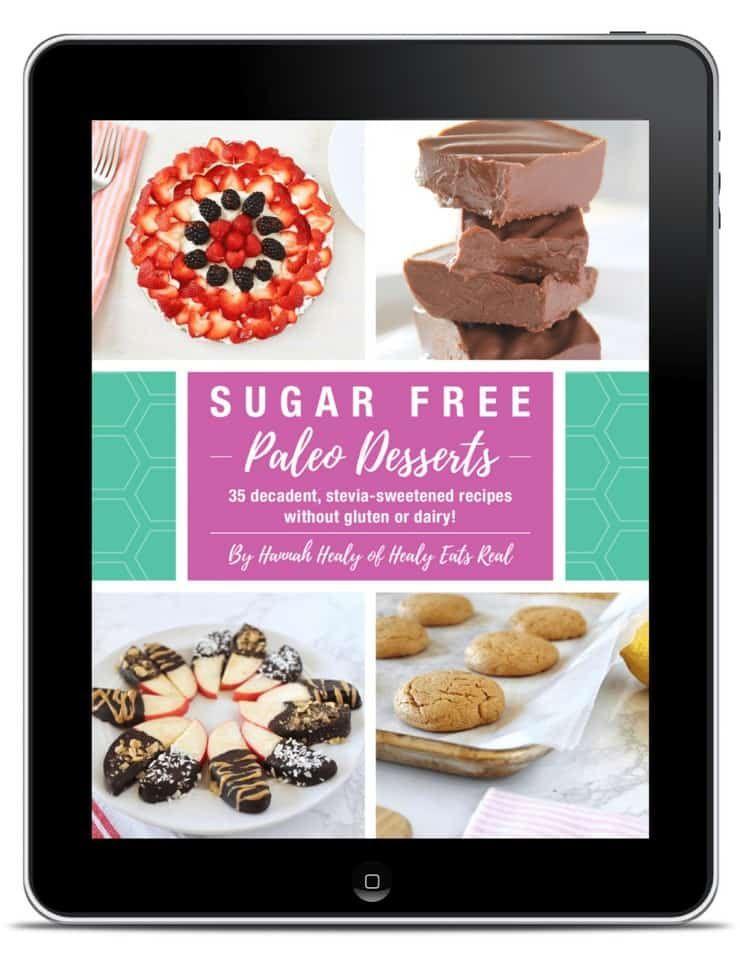 Sugar Free Paleo Desserts 35 Delicious No Sugar Added Recipes