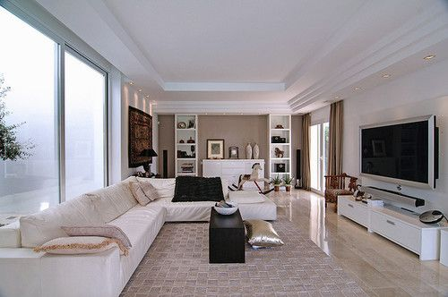 interior design, home decor, rooms, living rooms, windows | A Touch
