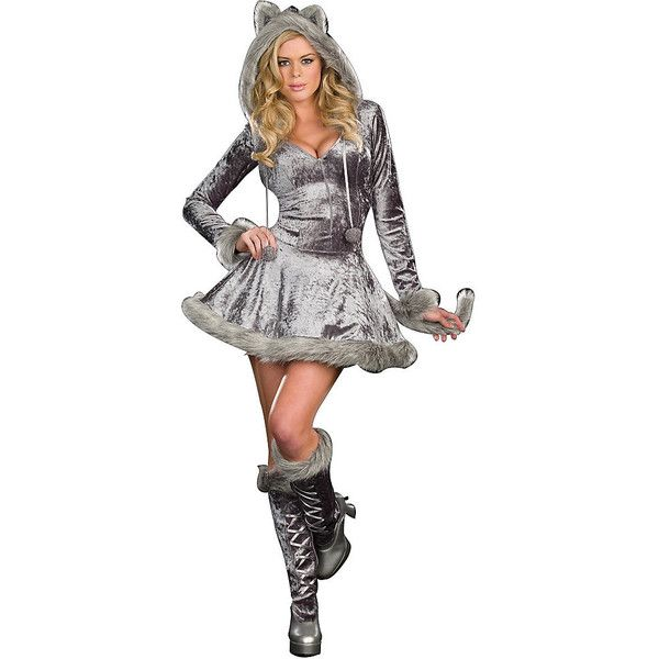 Plus Size Big Bad Sexy Wolf Costume for Women ($60) ? liked on Polyvore  sc 1 st  Pinterest & Plus Size Big Bad Sexy Wolf Costume for Women ($60) ? liked on ...
