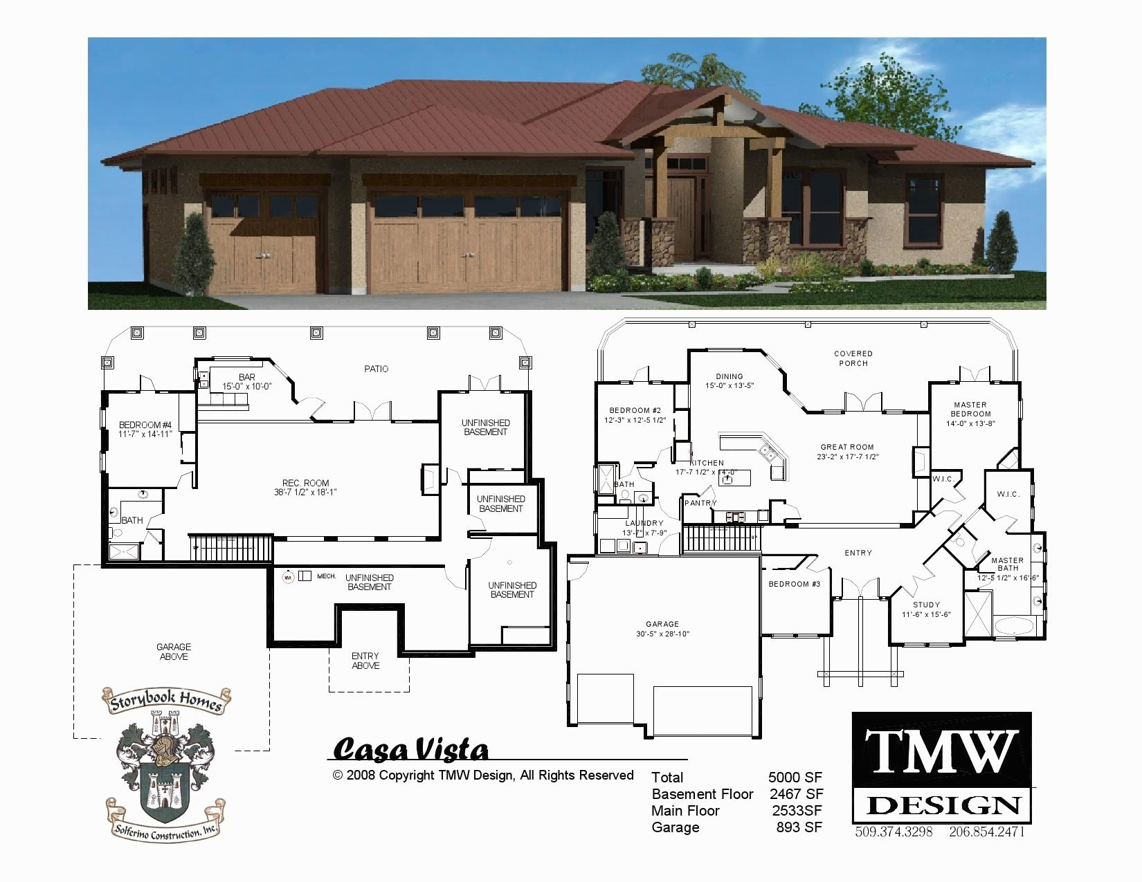 Unique Free House Plans With Bats 9 Ranch House by ... on