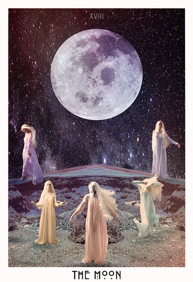 THE STARCHILD TAROT | Inspo! | The moon tarot, Tarot, Love tarot