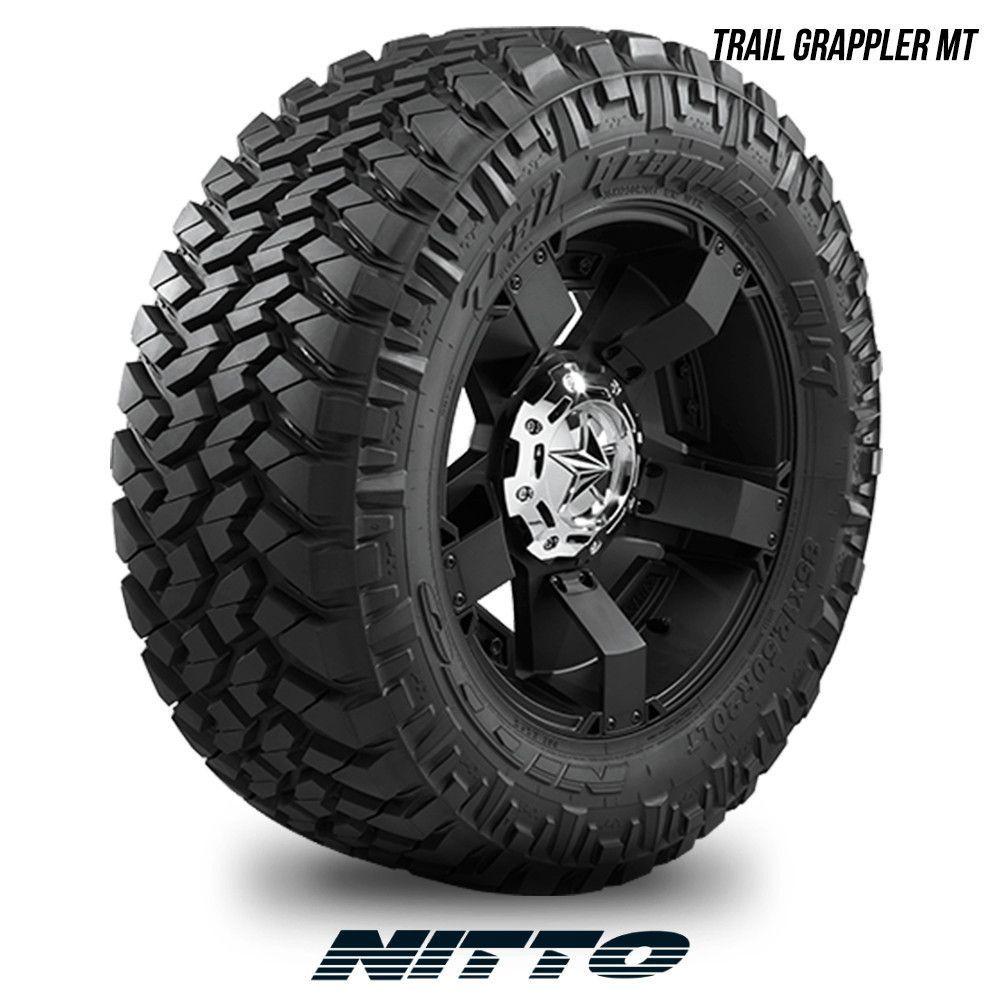 Nitto Trail Grappler Mt Lt 285 55r20 122q 285 55 20 2855520 Truck Tyres Truck Rims Wheels Tires