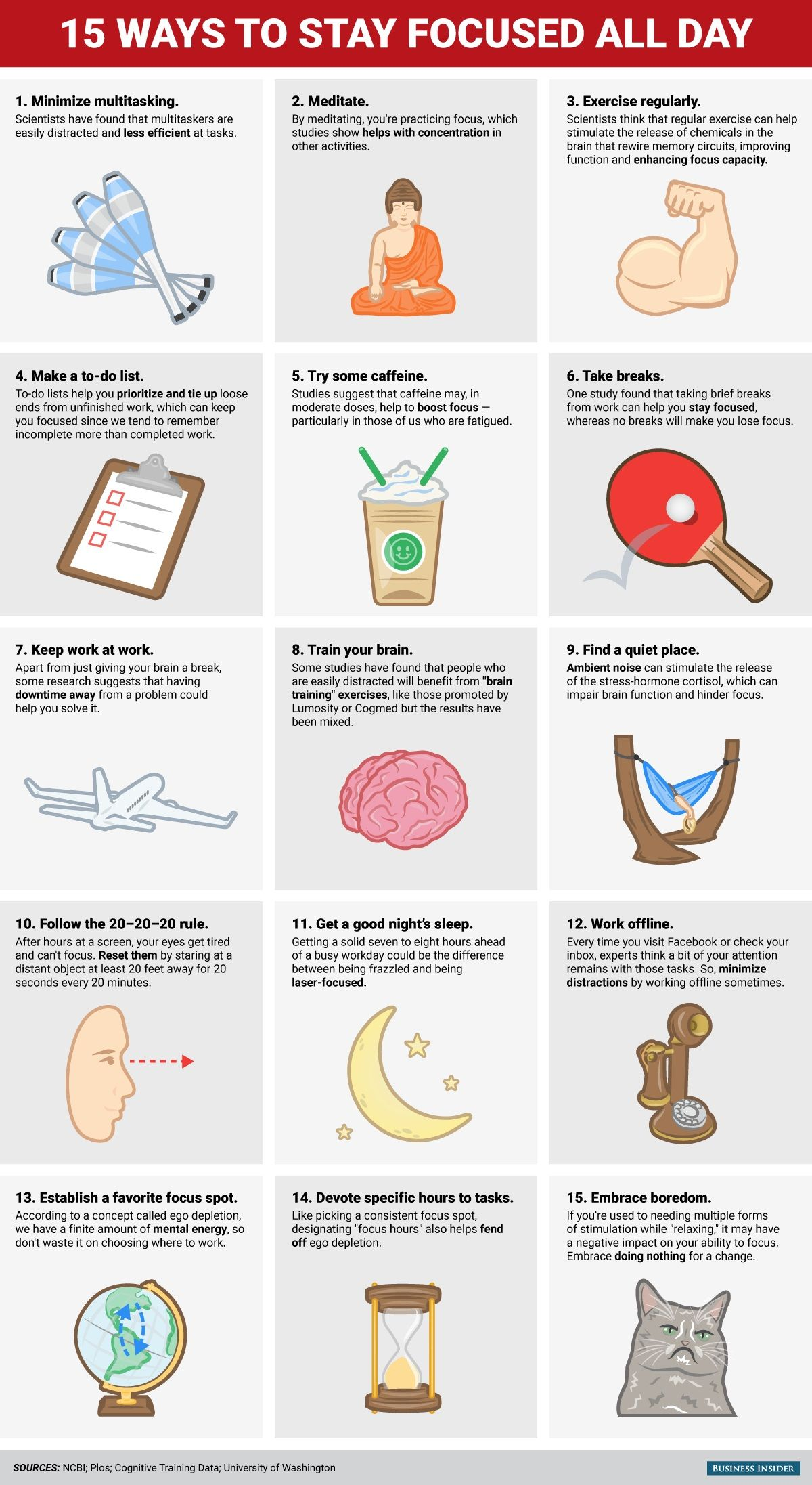 Watch 20 Ways to Reduce Work Stress in 1 Minute or Less video