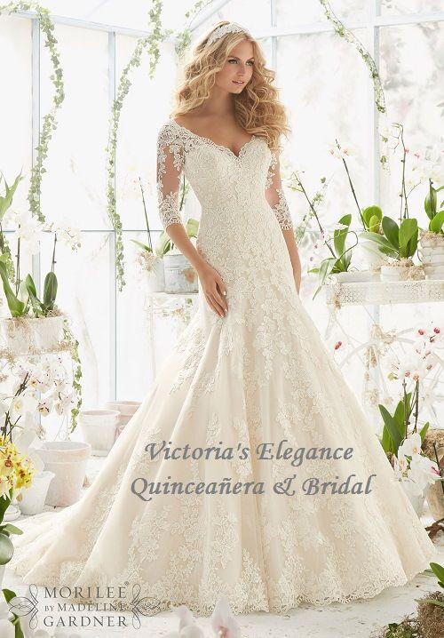 Patrones y Costura: ELEGANCE WEDDING DRESS | Novias | Pinterest | Novios