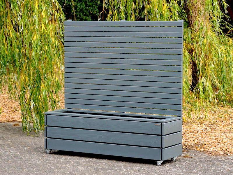 Pflankasten mit Sichtschutz Holz nach Maß, Oberfläche