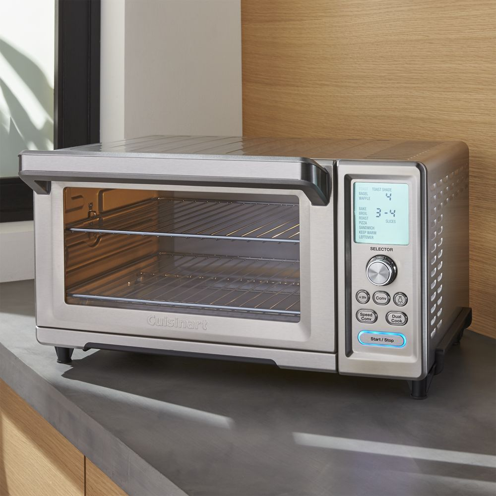 Cuisinart Chef S Convection Toaster Oven With Broiler Reviews Crate And Barrel With Images Toaster Oven Convection Toaster Oven Toaster