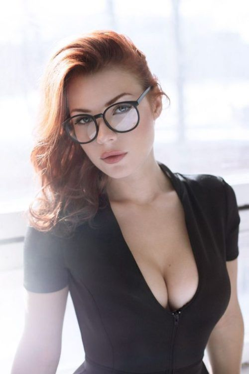 Hot Redhead In Glasses  Red Heads  Sexy, Redheads -7554