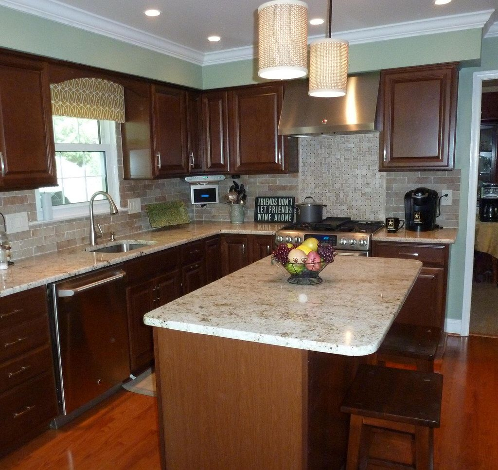 Kitchen Backsplash Latest Trends cherry hill kitchen | kitchen inspiration | pinterest | cherry